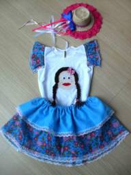 Vestido junino (conjunto)