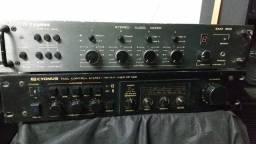 Conjunto pré Cygnus e Mixer Sam 800
