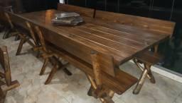 Mesa para Churrasco em 10x 138,00