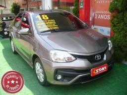 Toyota ETIOS SEDAN XLS 2018 STARVEICULOS - 2018