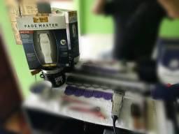 Maquina De Corte Andis Fade Master + Kit 5 Pentes Magnéticos