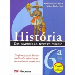 Livro História Das Cavernas Ao Terceiro Milênio 6 Série 7ano