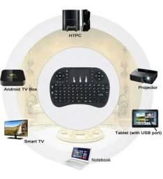 Mini Teclado Sem Fio para Tv Box, Pc, Vídeo game, Smartphone (se for com otg)