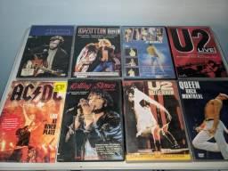 DVDs Originais - Musicais - R$ 10,00 a unidade