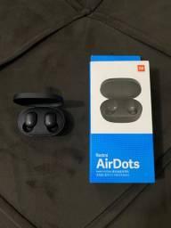 Air Dots Xiaomi PERFEITO estado com CAIXA