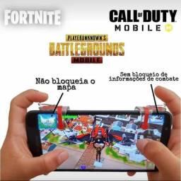 Gatilhos L1 R1 para celular, jogue Free Fire, Pubg Mobile, Call of Duty Mobile