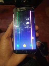Galaxy s7 edge 32gb 4gb, do jeito que ta nas fotos