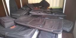 Roland korg nord motif kronnos Yamaha mapex montage acordeon troca