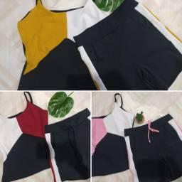 Conjunto M e G roupa feminina