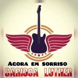 Carioca Luther de sorriso mt