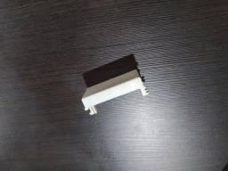 Conjunto de tomadas e tampas elétricas