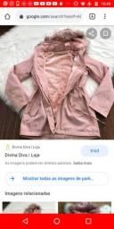 Parka rosa - desapego