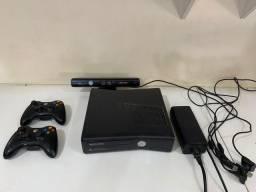 Xbox 360 destravado com Kinect, HD 320Gb