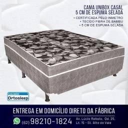 Aproveite cama unibox casal pronta pra dormir, apenas 199,00 ligue e peça a sua