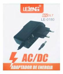 Fonte alimentação tv box lelong 5v 2a p4 5.5mm le-0180 at