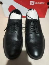 Sapato social novo na caixa 100 reais
