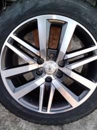 Jogo de rodas aro 20 Toyota Hilux