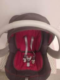 Bebê conforto Galzerano Cocoon jeans vermelho