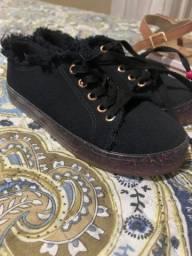 Dois sapatos infantil molekinha