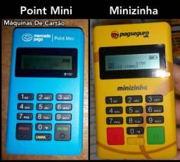 Maquininhas do Mercado Pago e PagSeguro