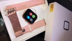 Vendo relógio Iwo 12 Pro rose