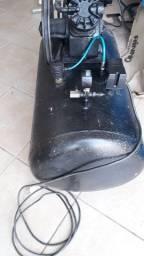 Compressor de ar 10 pés peguei em rolo