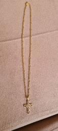 Lindo cordão de ouro 18k