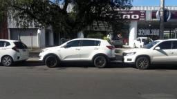 Kia Sportage 2012 Flex branca 2.0 16V 4p automática