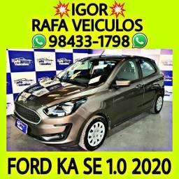 Ford ka se 1.0 12v flex 2020 entrada a partir de mil reais - IGOR RAFA VEICULOS - i