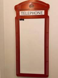 Quadro decorativo Telephone Geguton
