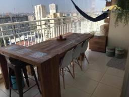 Apartamento com 3 dormitórios para alugar, 91 m² por R$ 2.672,00/mês - Vila Augusta - Guar
