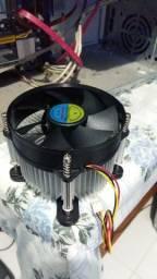Cooler Intel Soque 775/1155/1156-Produto Semi Novo * 24,99 *Aceitamos Caixa TEM / Cartão