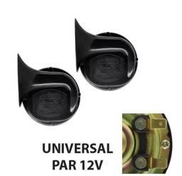 Par Buzina Automotiva Universal Caracol 12V Cinoy YN-BZC201 com Inmetro - Caruaru (PE)
