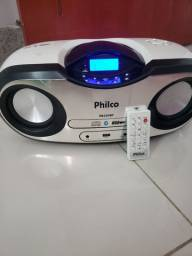 Vendo Som Portátil Philco Pb329BT CD Player Radio Gravador com Bluetooth
