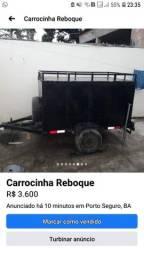 Carretinha baú