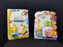 Kit Instrumentos Musicais<br>Brinquedo