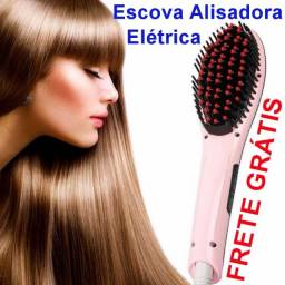 Escova Alisadora Chapinha El¨¦trica 230¡ãc Magic Hair Lcd