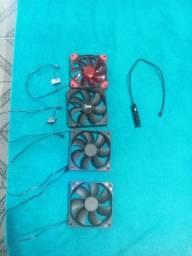 Fans 120mm + Hub de Fan