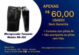 Microgravador Panasonic