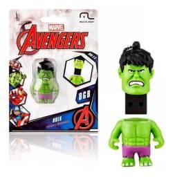 Pendrive Avengers Marvel Vingadores - Hulk 8gb - Pd082