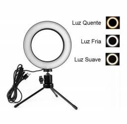 Ring Light 6, 8 e 10 polegadas