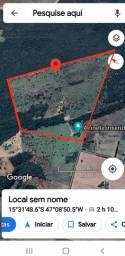 Fazenda 51 hectares(10alqueires) c/escritura 100km de Brasília Formosa 1km estrada chão