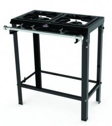 Fogão 1 Queimador Simples 1 Queimador Duplo S/forno (c/registro p/forno)