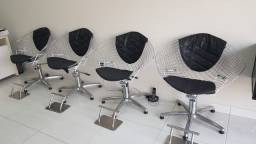 Cadeira hidráulica p/ salão Haisan