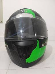 Capacete MT Helmet escamoteável