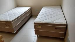 ::: Conjunto Cama Box Colchao Chimango Montrel Solteiro 88x188 Melhor Preço Confira
