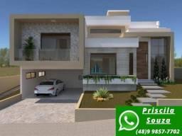 P.S CA0390-Casa de alto padrão com 4 quartos, no norte da Ilha!!