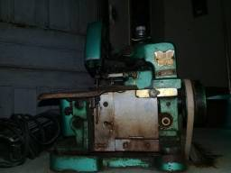 Máquina de costura overloque industrial usada