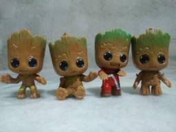 Kit Baby Groot 4 Bonecos