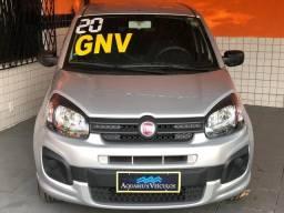 Uno attractive flex-gnv + completo + ( otimo uber )